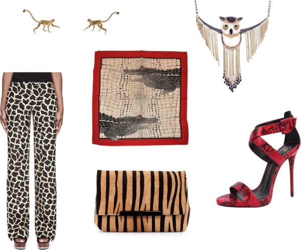 Fashion Friday 6/13/14  by  fashfri  featuring an  owl necklace