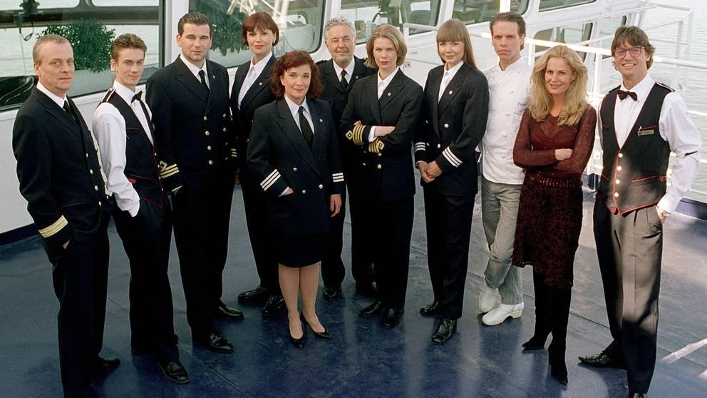 Flera av våra mest kända och folkkära skådespelare bidrog till seriens omåttliga popularitet