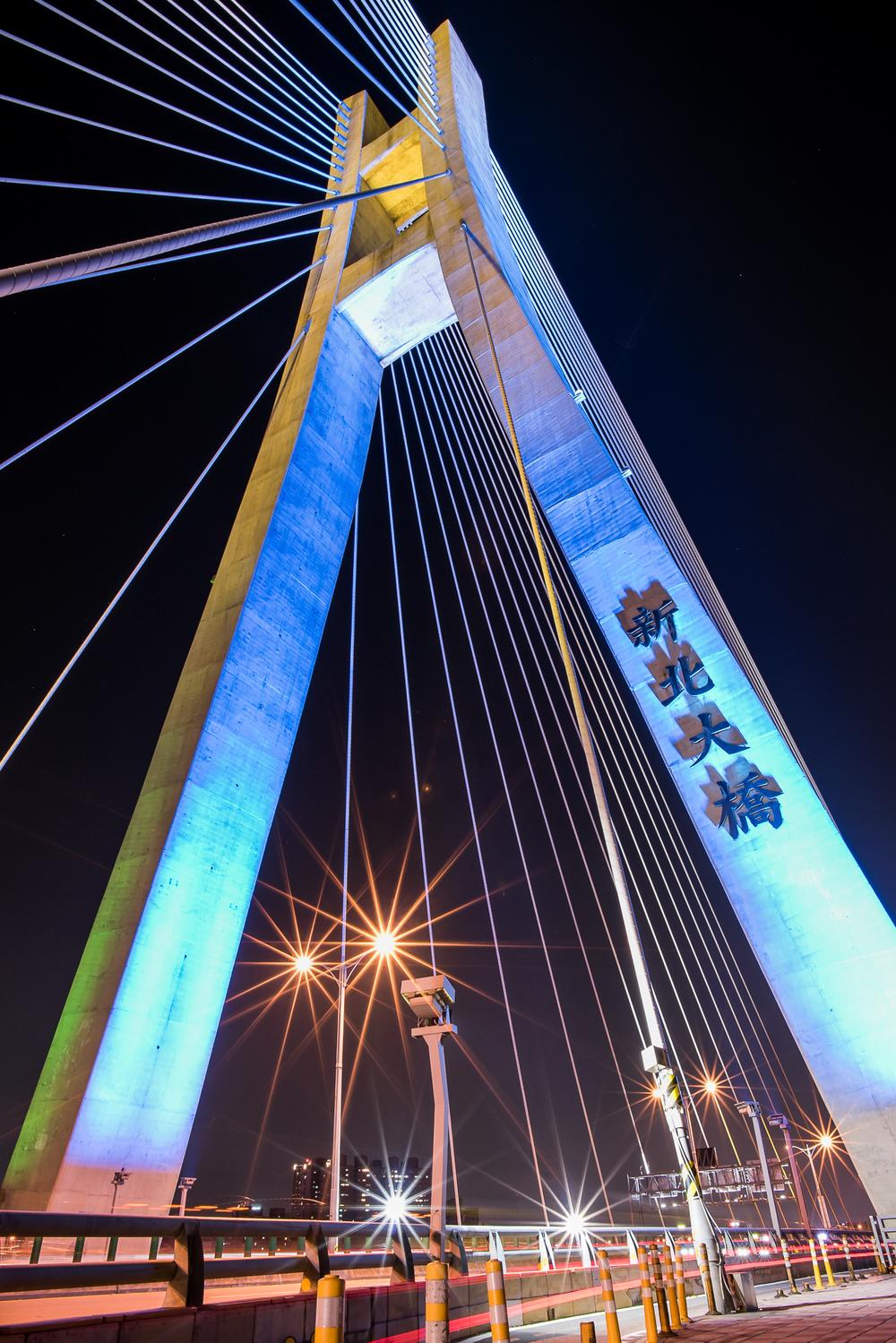 第一次仰拍新北大橋