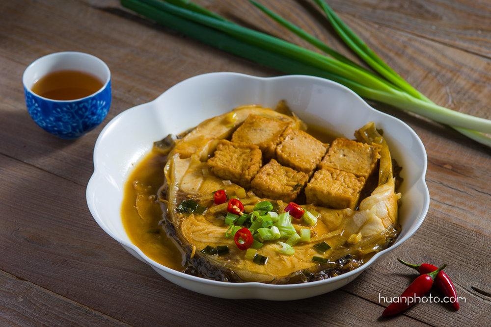 4.  烏鰡燒豆腐