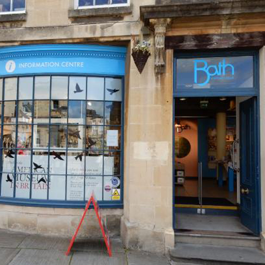 Bath Tourist Information - 18th July - 4th Sept 2017