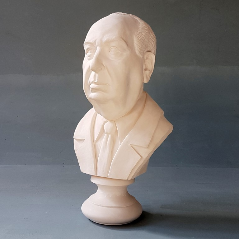 Alfred Hitchcock Life Size Bust £260 / RRP £650