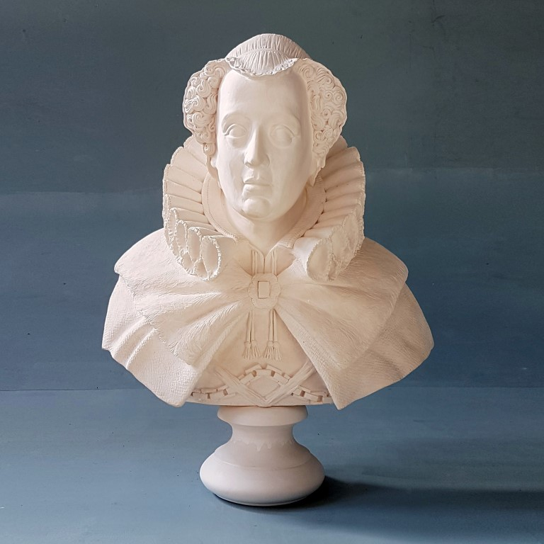 Mary Queen of Scots Life Size Bust £260 / RRP £650