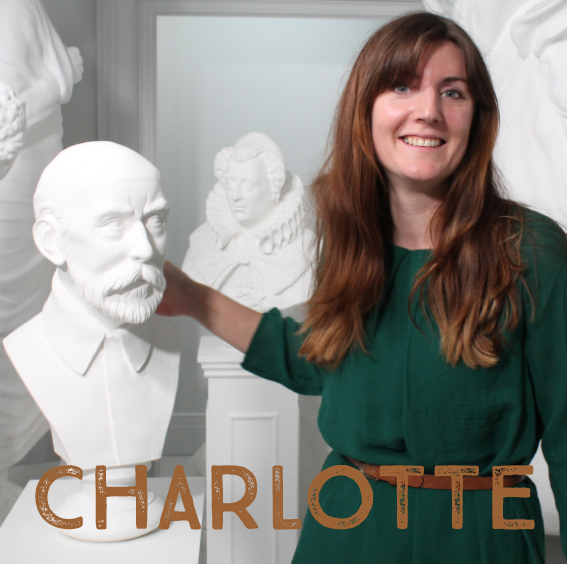 Charlotte is the talent behind our Famous Faces Collection of busts. As well as sculpting the busts, she is also our Creative Project - Coordinator and is always busy developing new ideas and products. As well as working for the workshop, Charlotte also works as a professional portrait sculptor making pieces of a larger scale.  http://www.charlottehern.co.uk/