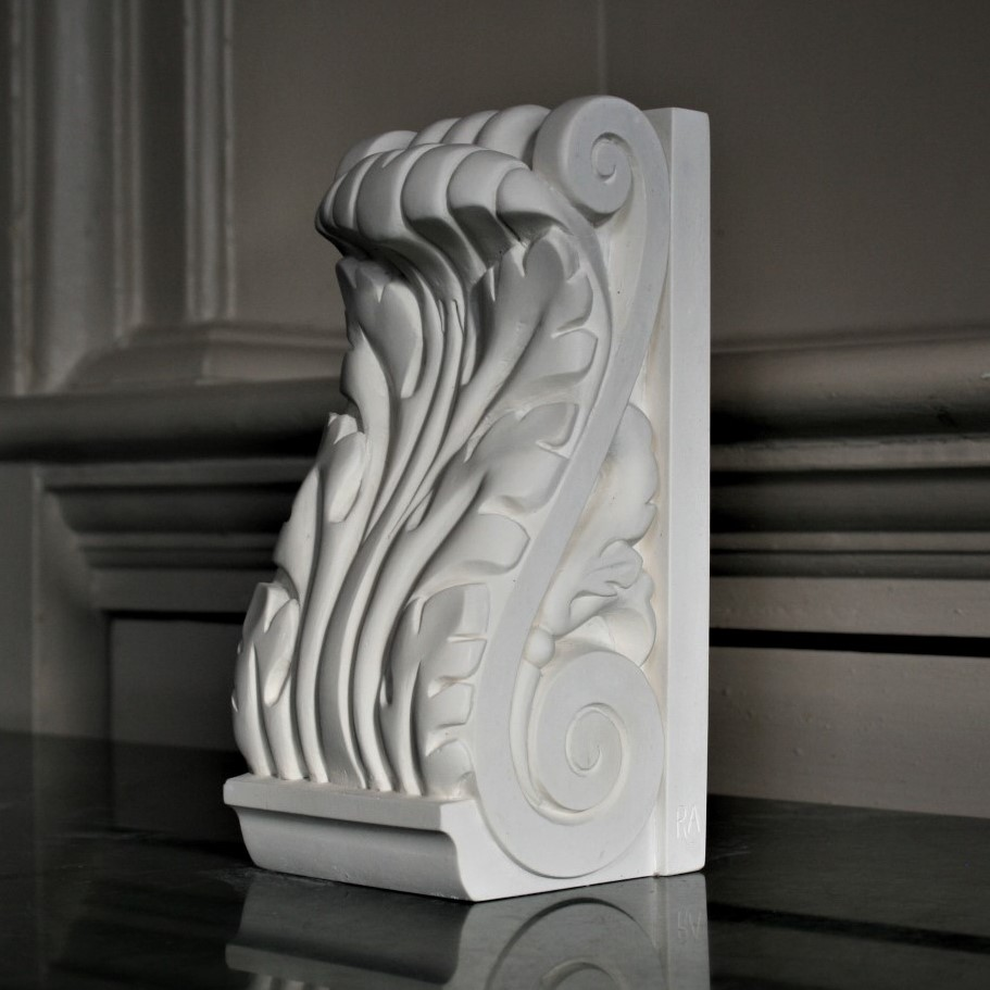 Acanthus Leaf Bookend.JPG