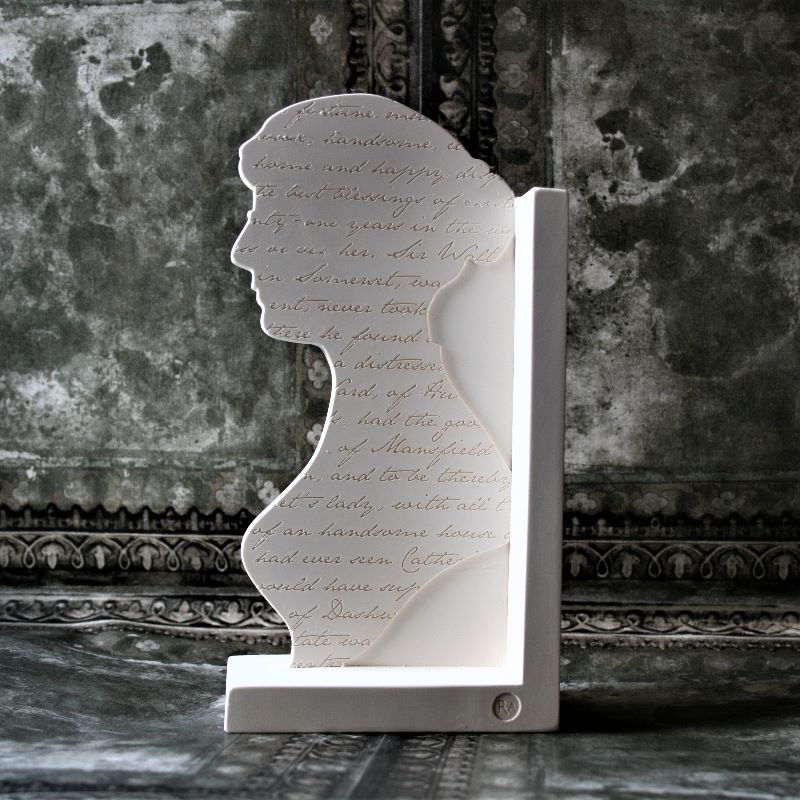Jane Austen Bookend (3).JPG
