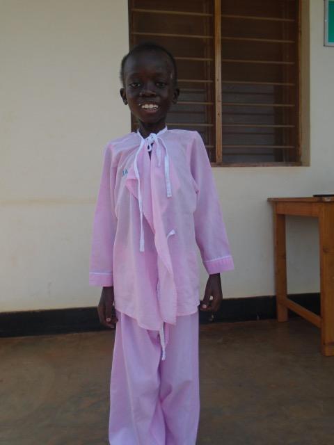 Photo taken of Peter before he arrived to Cherish Uganda