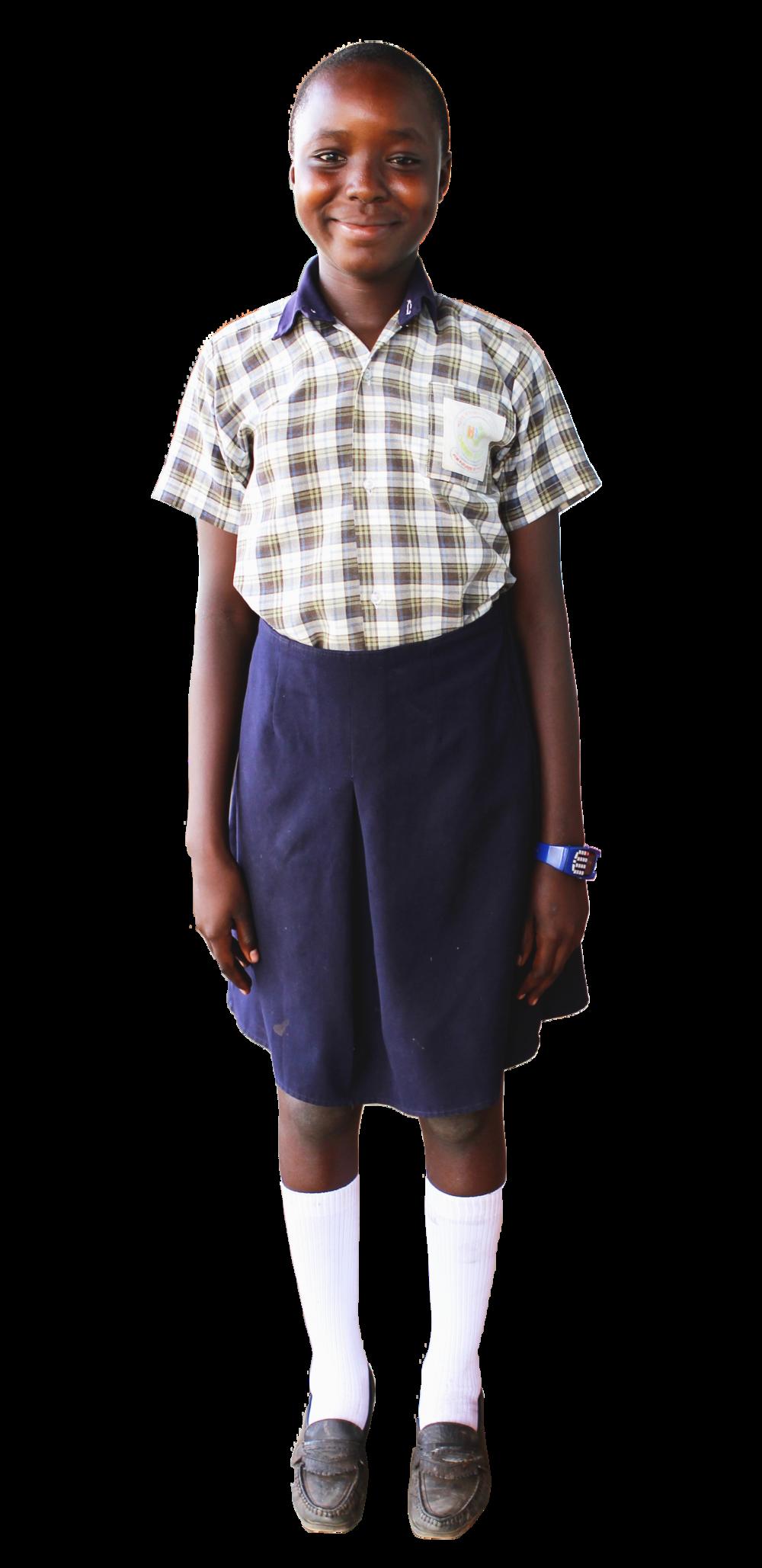 School Uniforms:$22 - Just $22 USD can purchase a student's uniform set. A uniform set includes: formal uniform attire, PE clothes, a sweater, and socks.