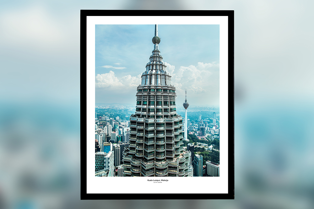 Kuala Lumpur, Malezja – oprawiony wydruk (50x40 cm) - 200 zł | kup teraz ➞