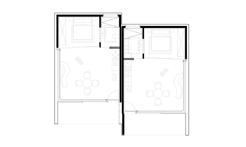 Mirror Houses plan