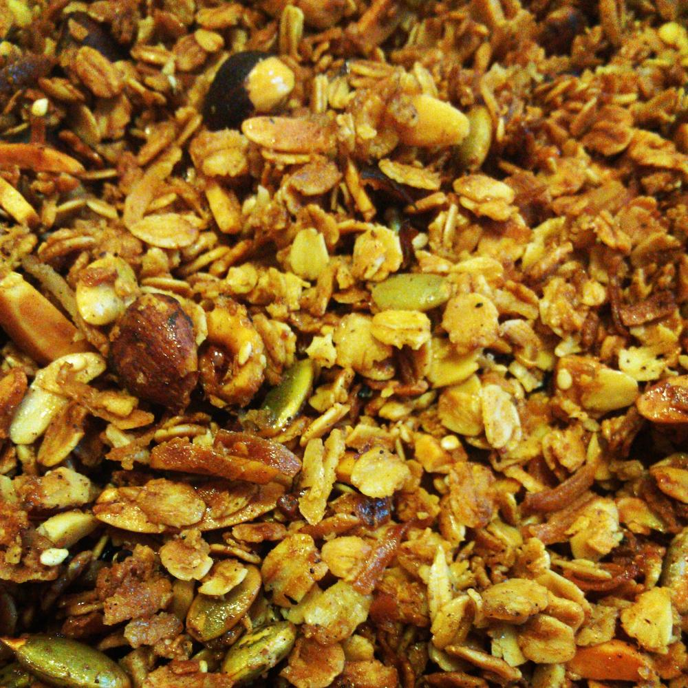 Maple hazel granola