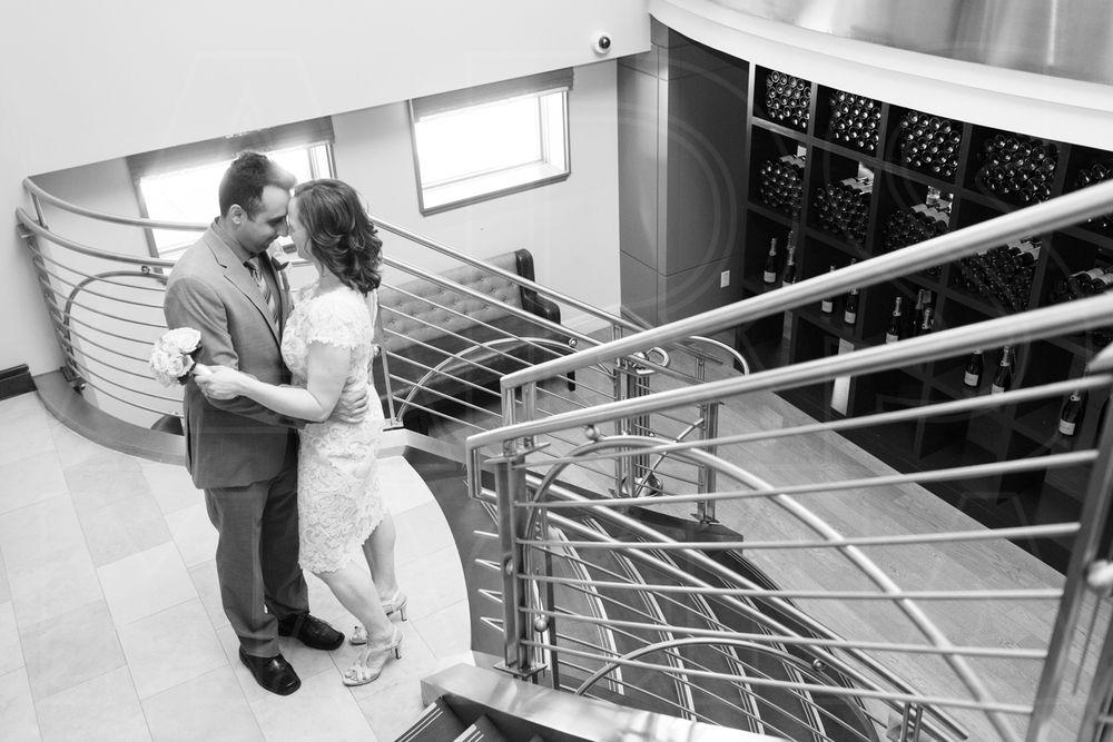 We parted ways at Precinct, where the couple toasted their nuptials with thier parents before heading off to dinner.