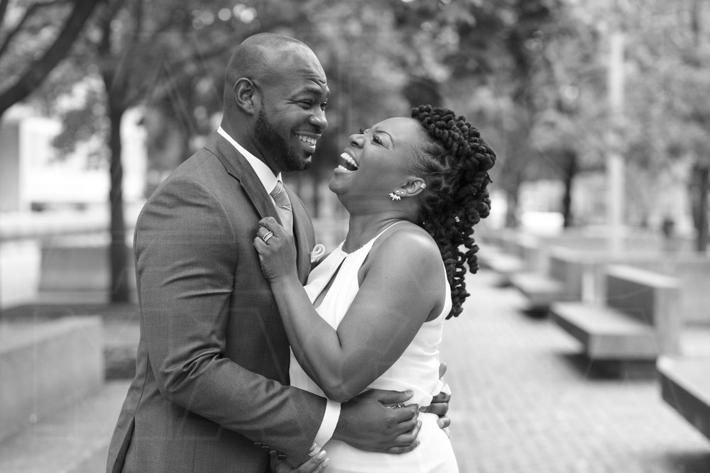 wedding portraits city hall boston