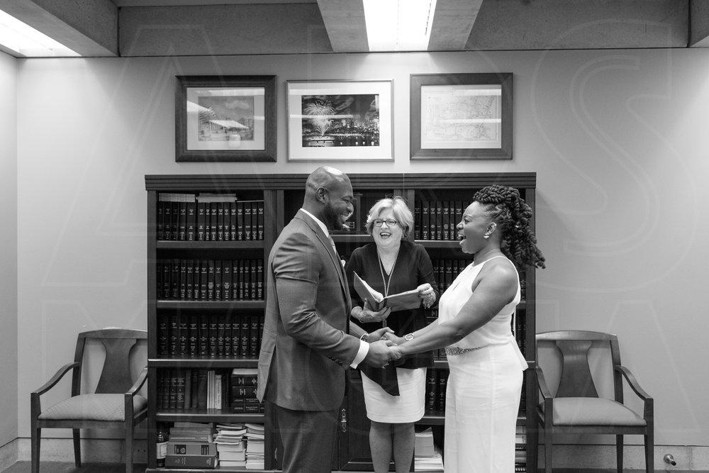 wedding ceremony city hall boston