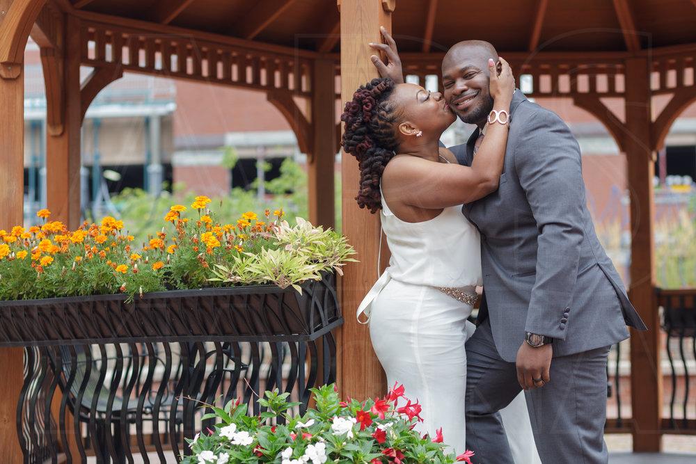 civil wedding ceremony at boston city hall