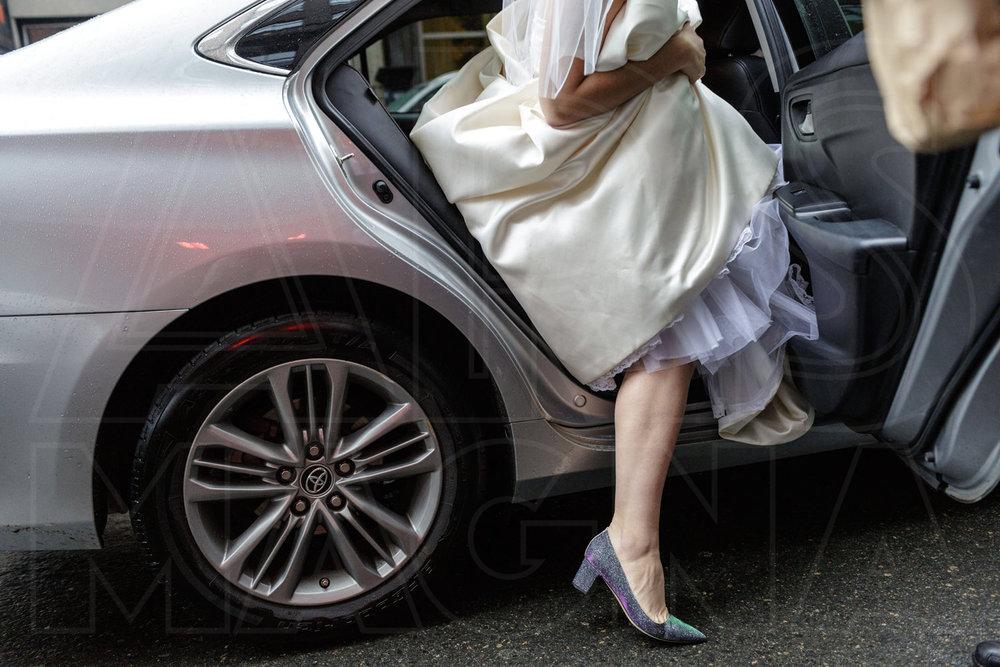 bride custom purple sparkle shoes by sjp