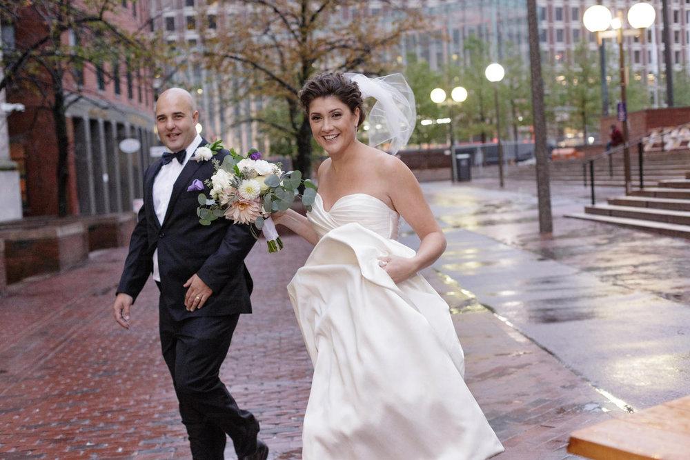 boston city hall plaza wedding photos