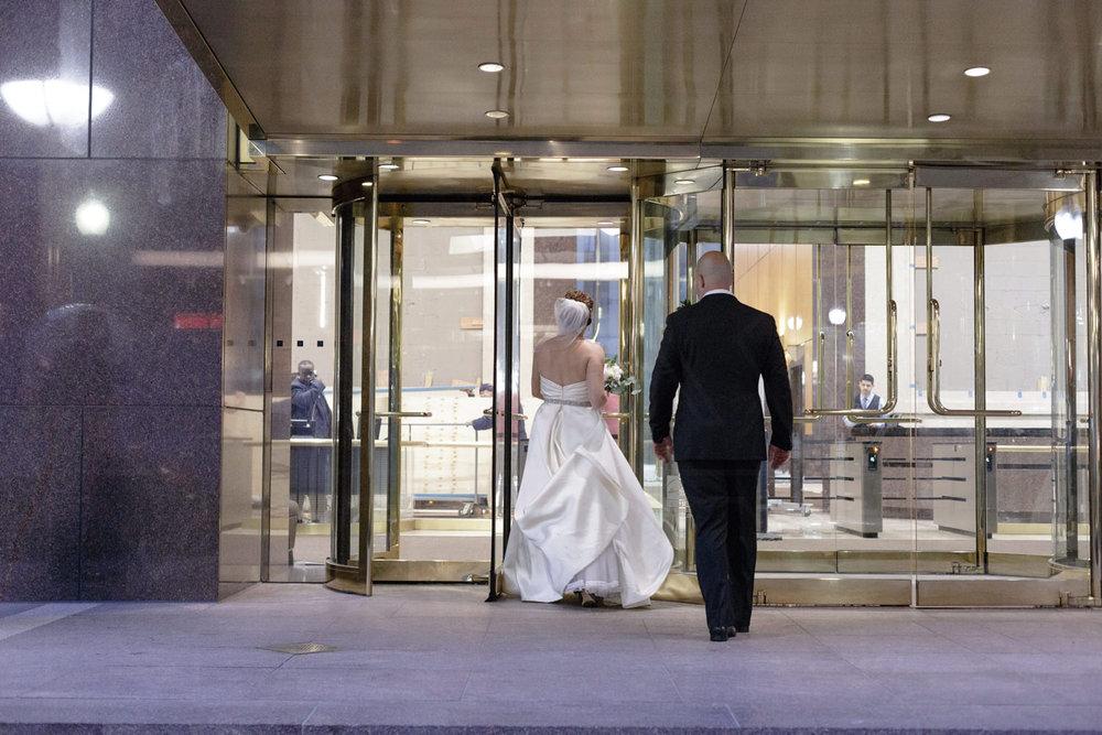 boston college club wedding photography