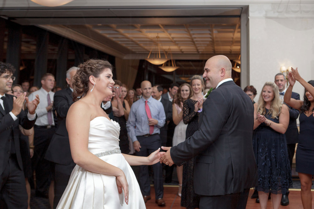 wrapping up the horah bc club boston wedding