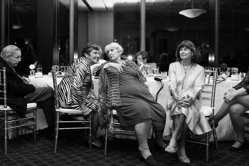 bc club boston wedding reception gossiping grandmothers