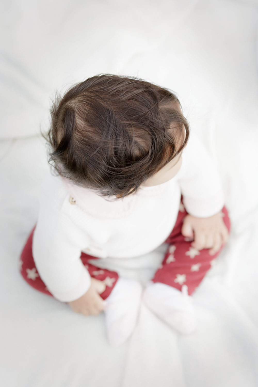 six month old hair