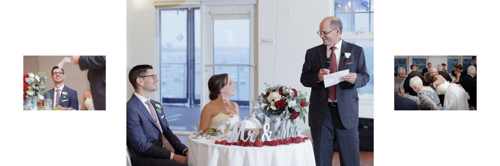 wedding album duxbury bay maritime academy wedding photography reception