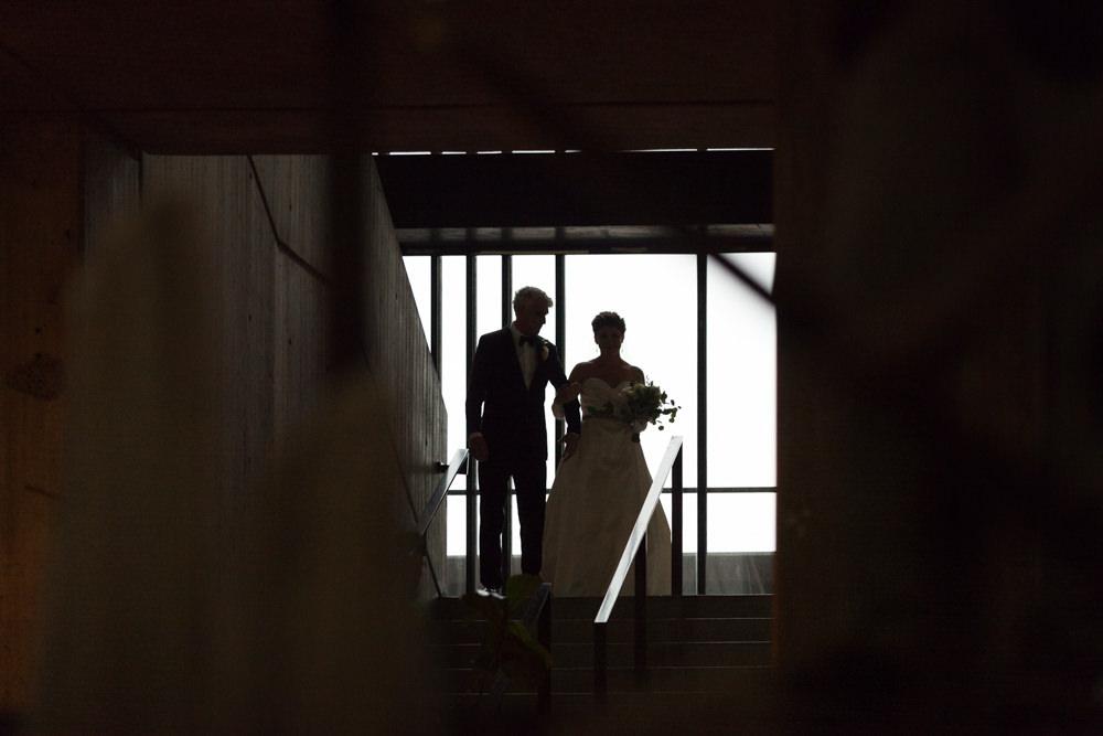 boston city hall wedding rain photography father daughter ceremony