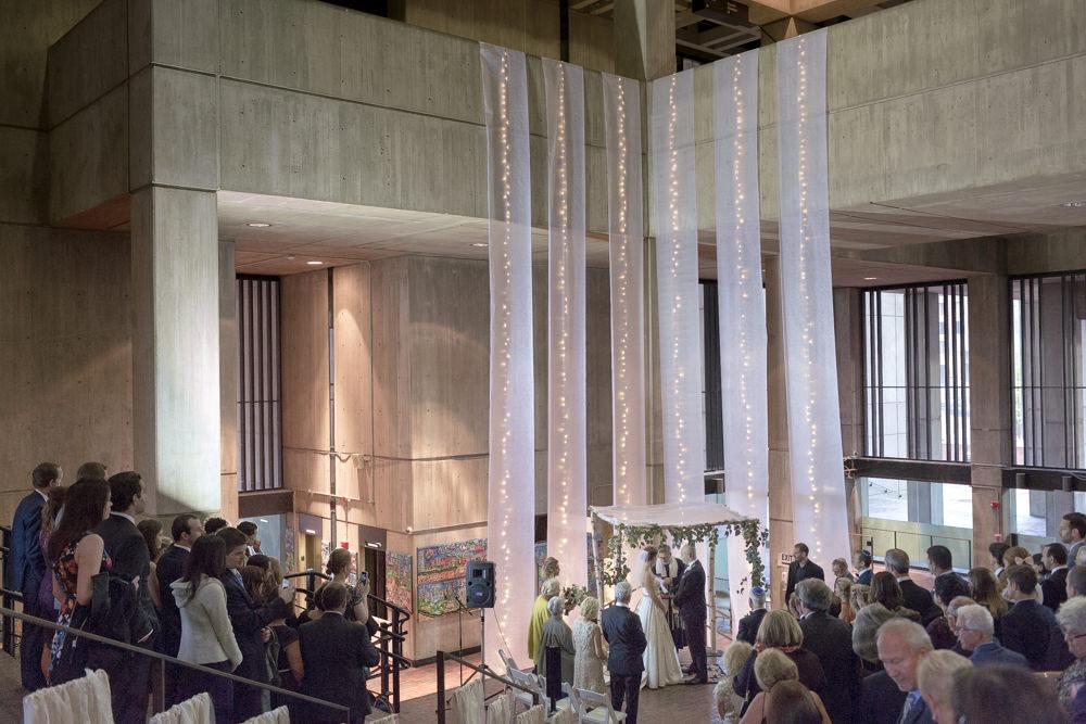 inside boston city hall wedding rain plan b photography