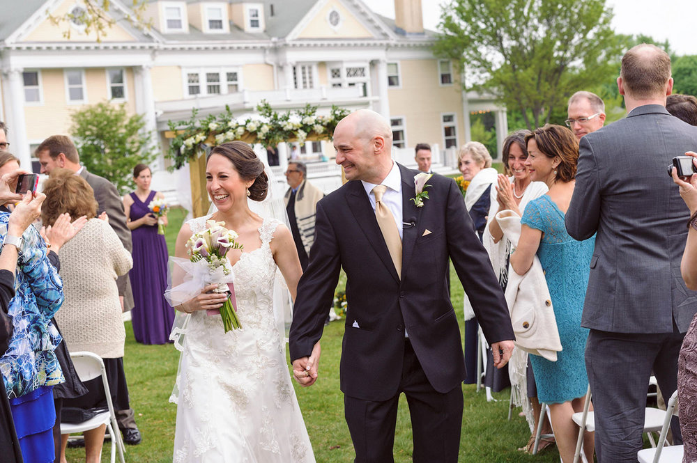 endicott estate wedding ceremony photography