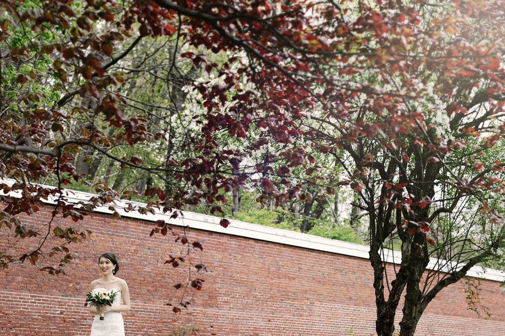 lyman estate wedding photos first look