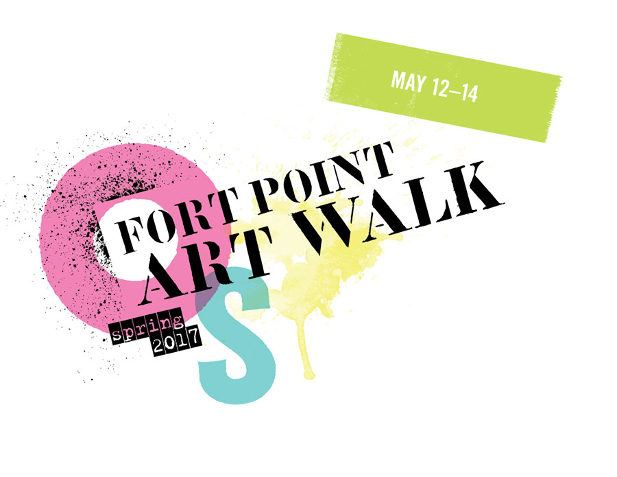 fort point art walk spring 2017