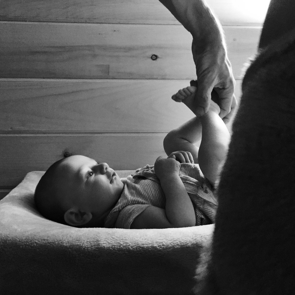 changing table family photojournalism