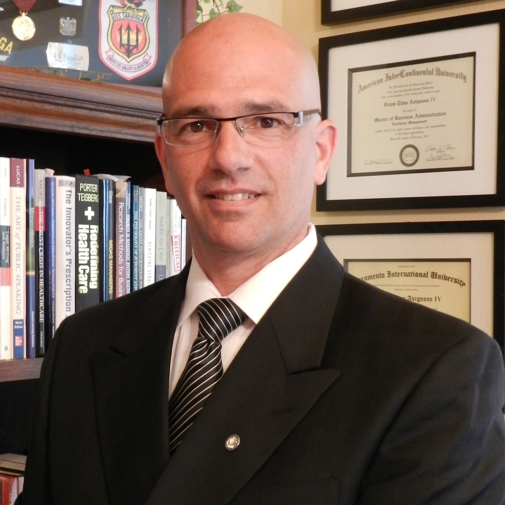 Frank T. Avignone, IV, Transformation Executive