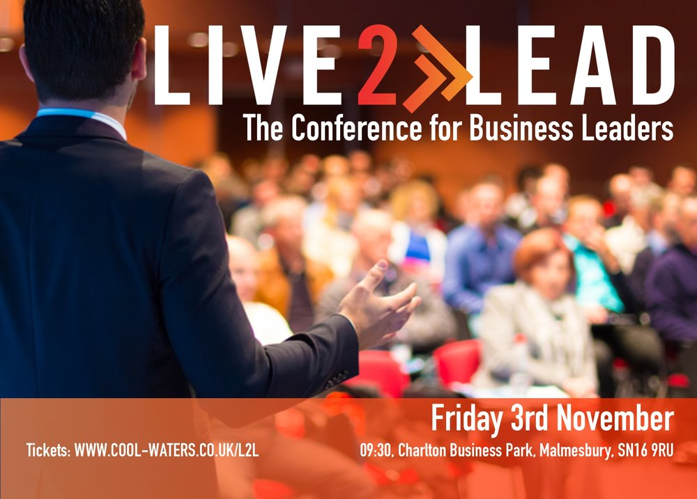 Click image for more information on Live2Lead or go to:  www.cool-waters.co.uk/L2L