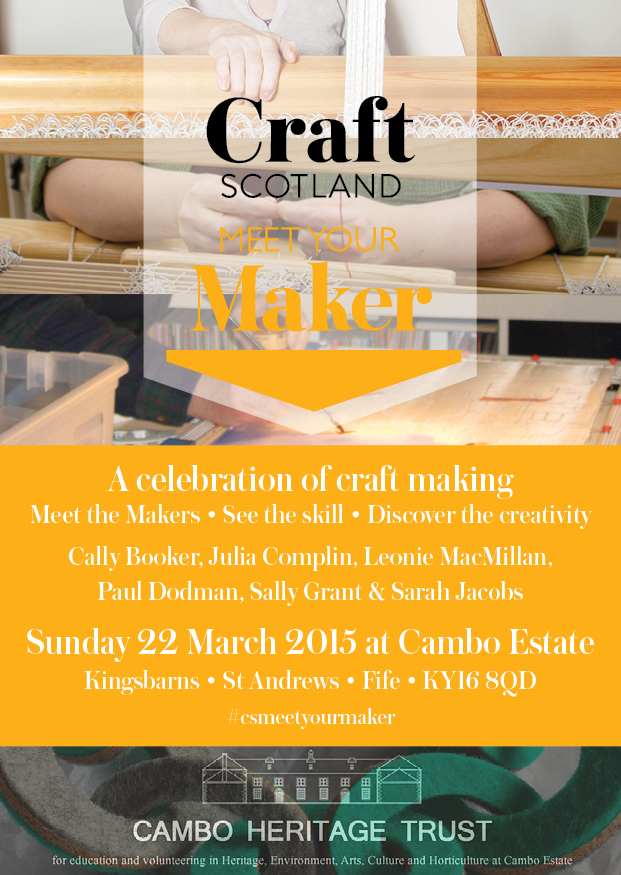 Craft Scotland Meet Your Maker Exhibition