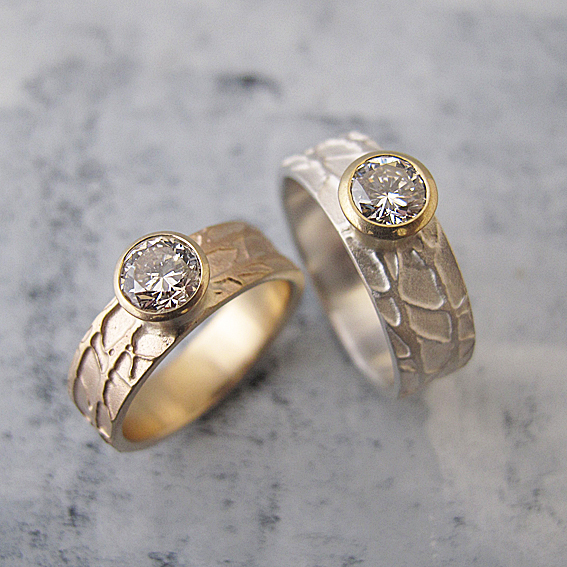 Diamond Winter Rings.