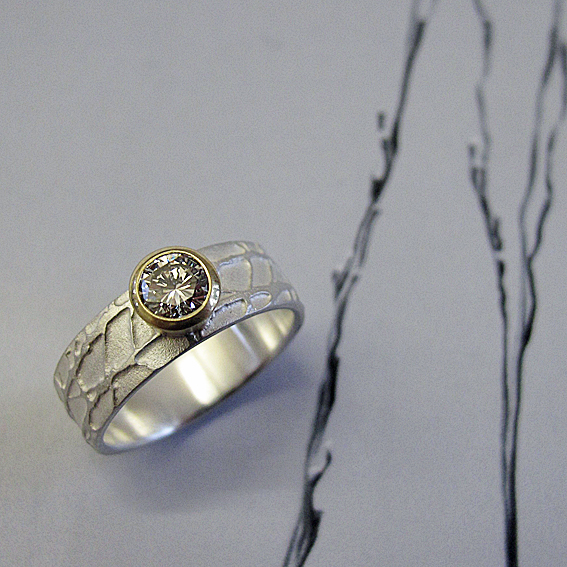 Diamond Winter Ring