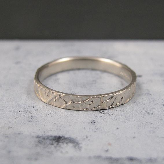 Narrow Blossom Ring.