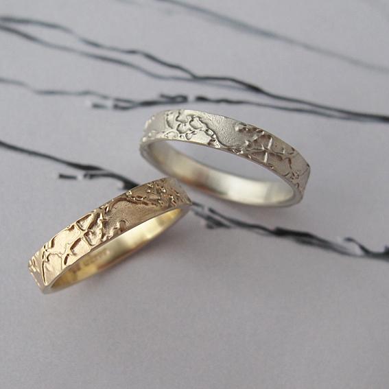 Narrow Blossom Rings