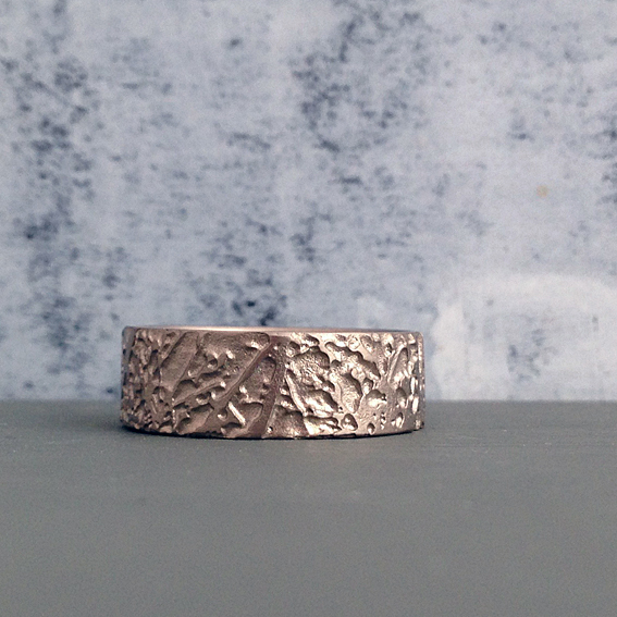 Platinum Meadow Ring.