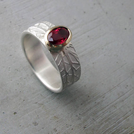 Ruby Winter Ring.