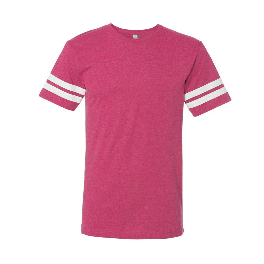 Vintage Hot Pink/White
