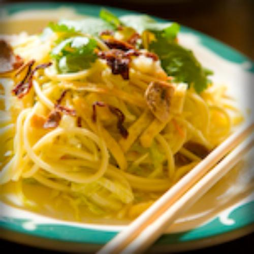 Burmese Lat Toke Noodle Salad