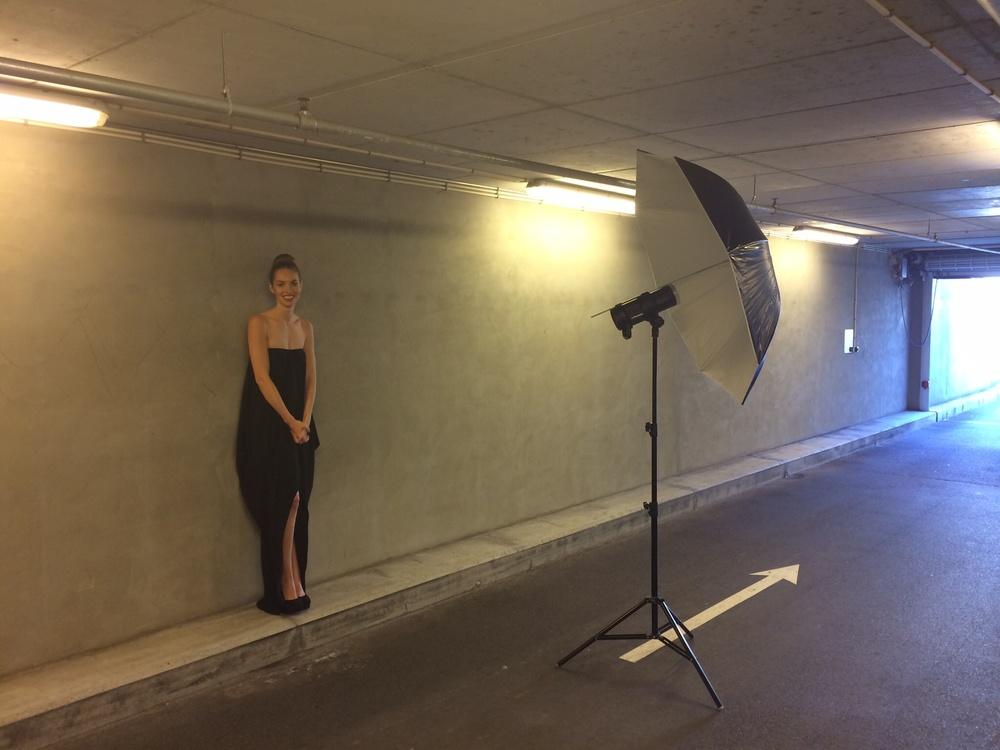 Model: Anina / Le Management Her bruger jeg en Profoto B1 samt Profoto Large Umbrella som lyskilde