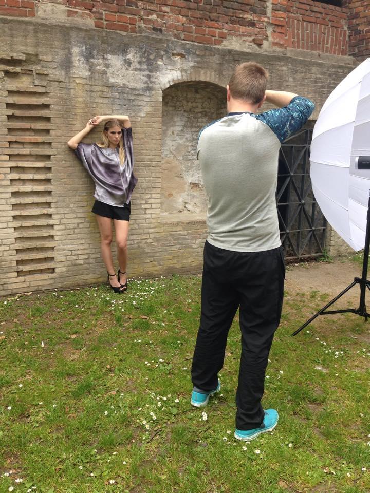 Model: Natasja, - Her skyder jeg med Sigma 50mm, samt Profoto B1