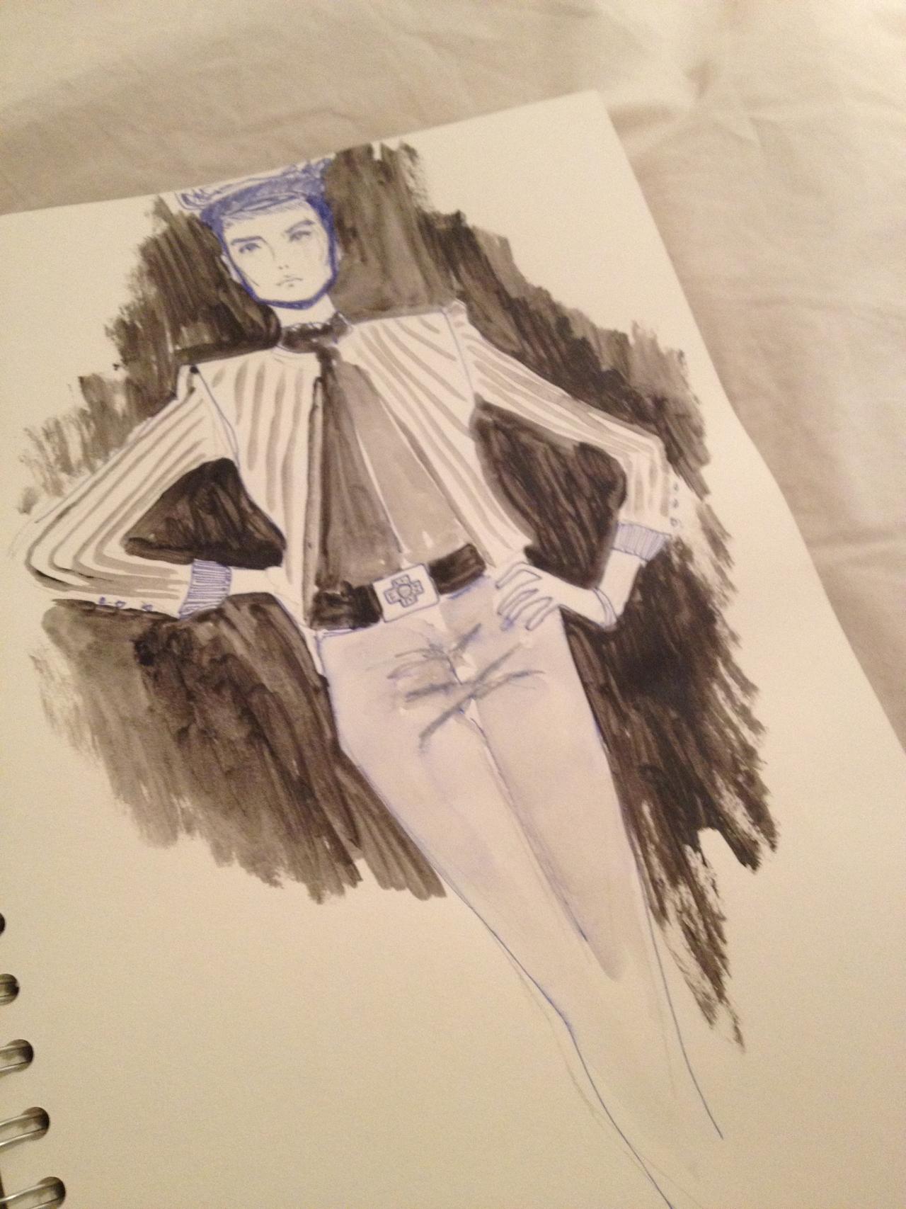 Sketchbook sketching. #pencilandpenpractise