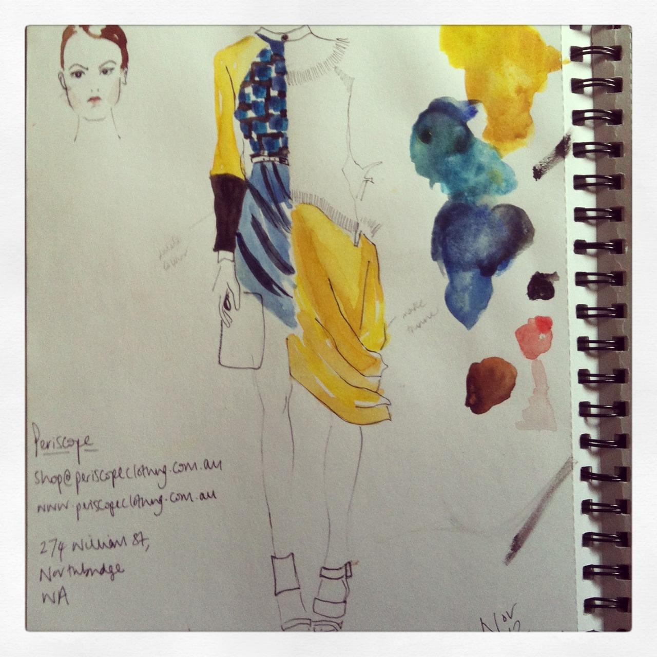 Sketchbook work from Australia #sketchbook