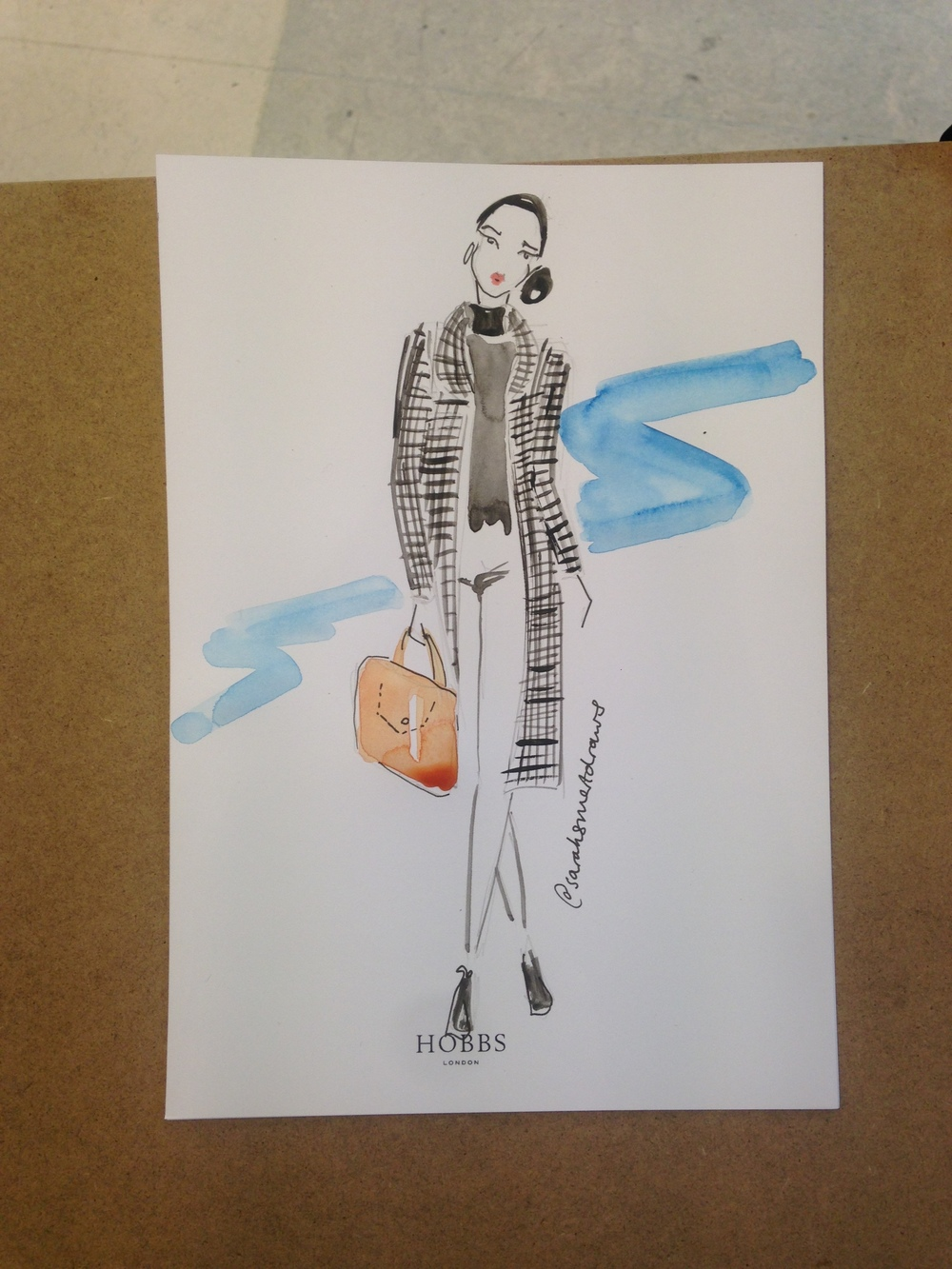 Live Fashion Illustration in Portsmouth