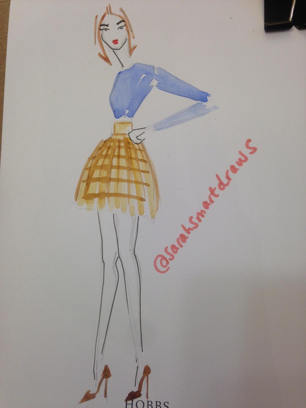 Live Fashion Illustration Event