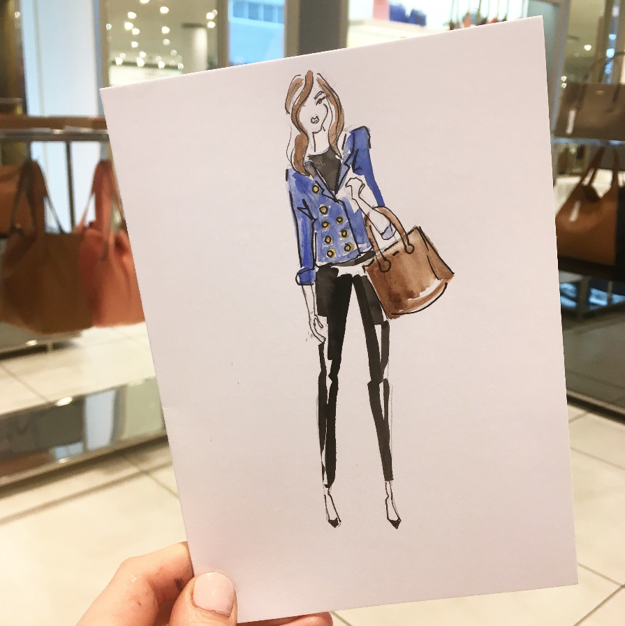 Live Fashion Illustration for Mother's Day
